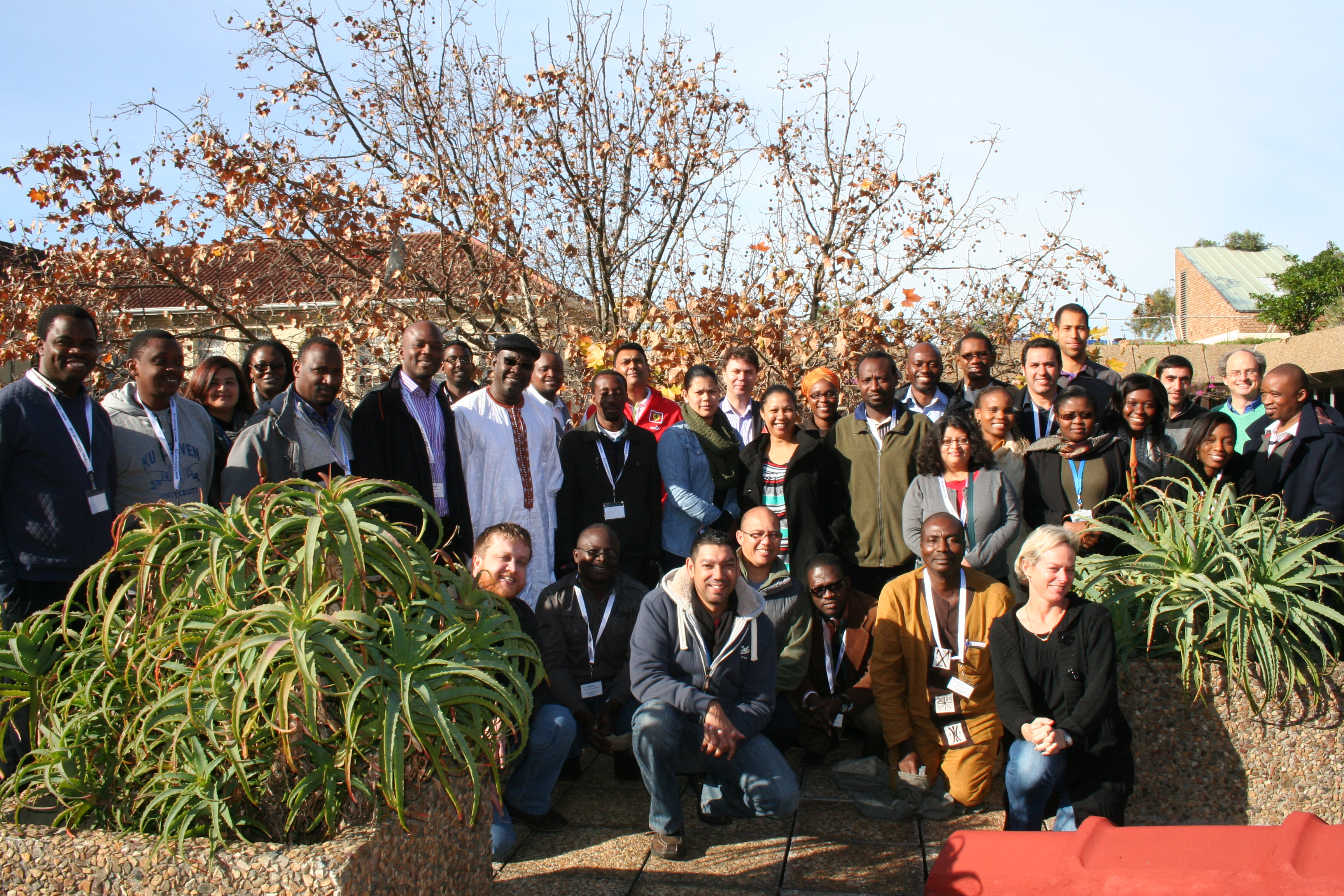 H3ABioNet Data management workshop participants 2014